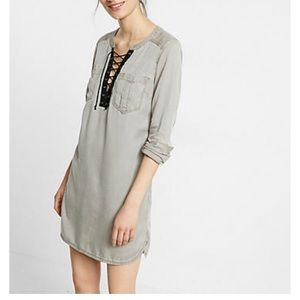 CCO 🆕 Lace Up Popover Tunic Size M